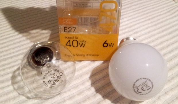 LED glödlampa