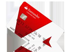 Santander kort