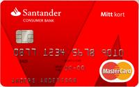 Santander Mitt Kort