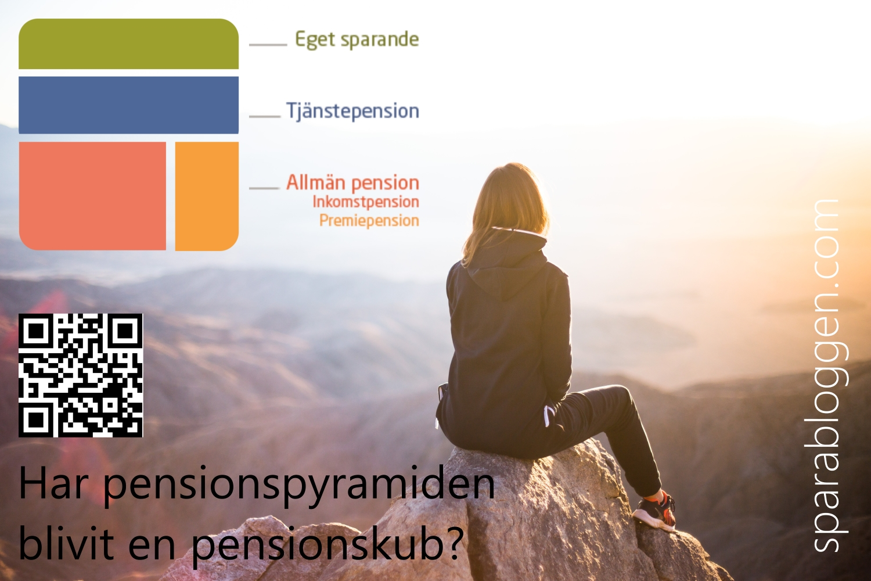 pensionspyramid blivit pensionskub liten