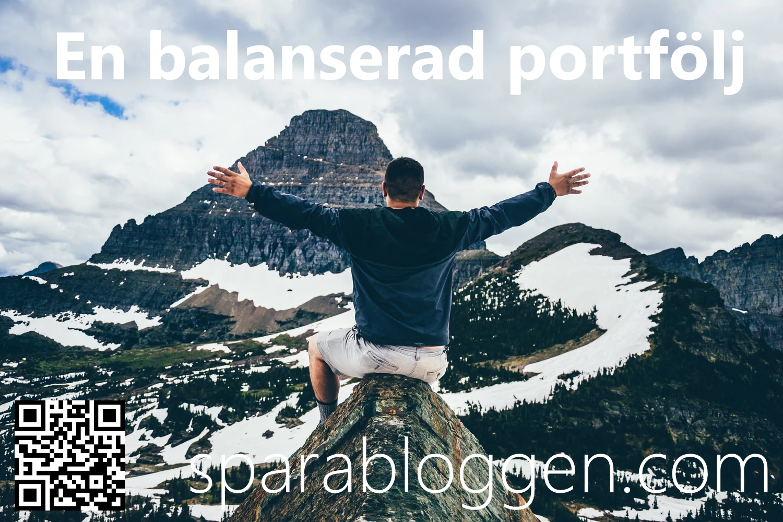 En balanserad portfölj