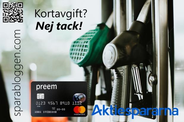 Bensin Preem MasterCard Aktiespararna